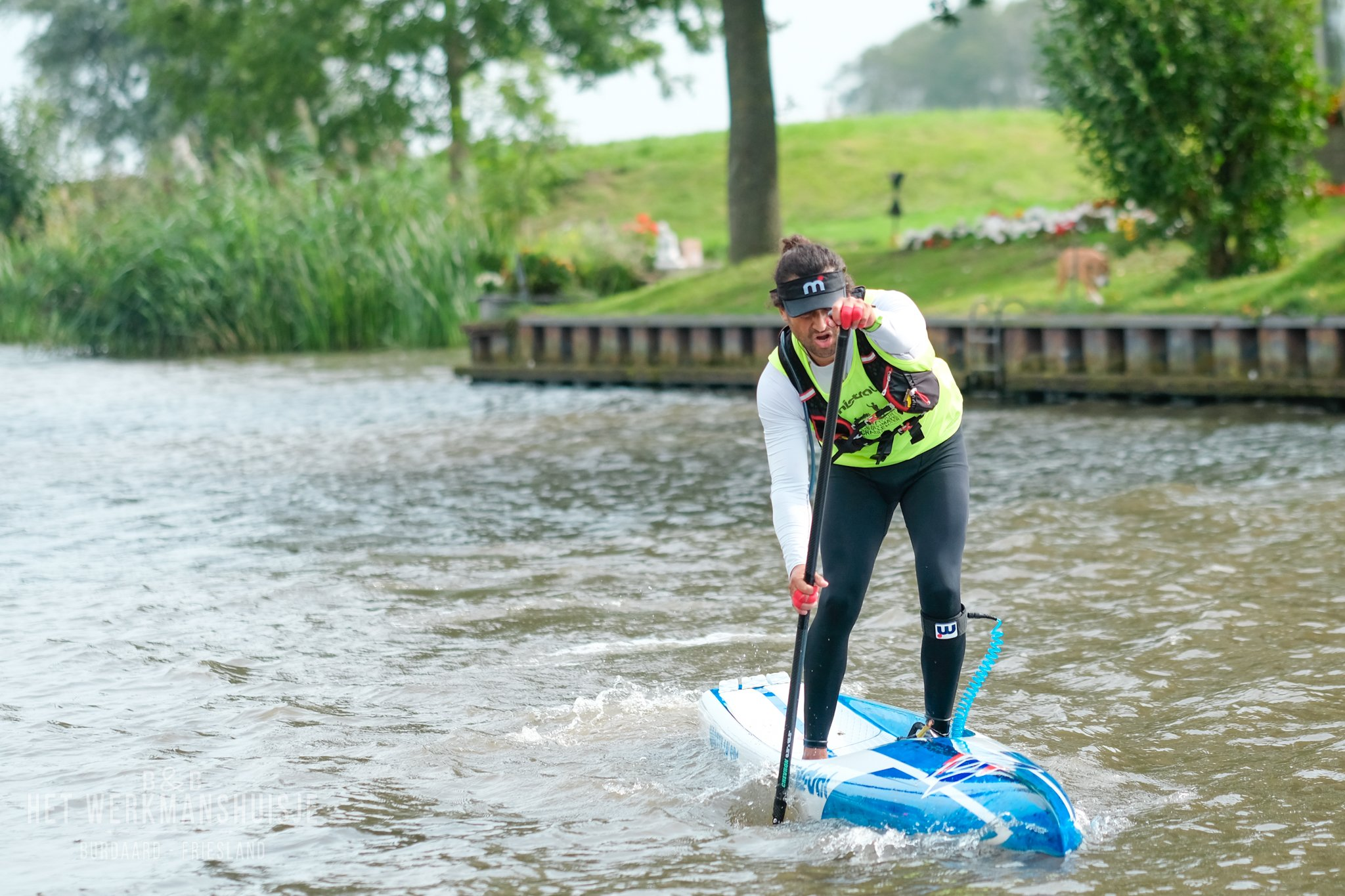 Watersporten - supboard huren in Burdaard